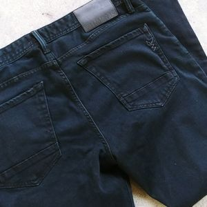 William Rast Black Skinny Jeans 34